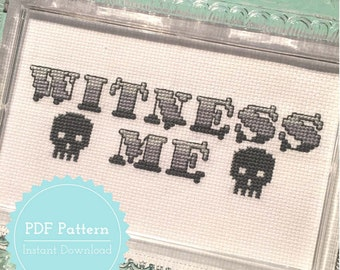 Mad Max Fury Road Cross Stitch Pattern Witness Me