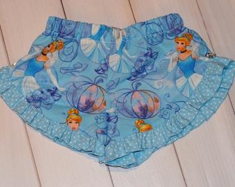 Cinderella girls ruffle shorts