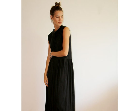 Dress Sleeveless Dress End Maxi Black Plus Dress Dress Party Dress High Dress Long Summer Black Dress Unique Minimalist Size Dress wqI4H4