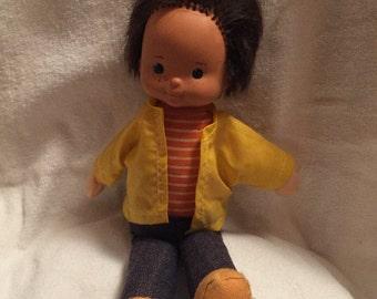 "Fisher Price Mikey soft body doll ""kids"" doll"