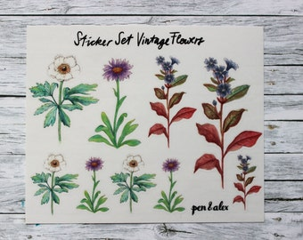 Diary Stickers - Stationary Love - transparent - pen&alex