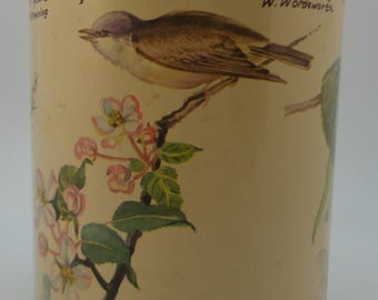 Lidded Tin, Nature, Plant Species, Quotes, Very Nice, 1977  Richard Webb