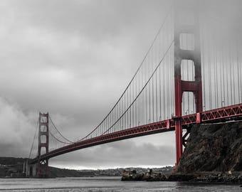 Golden Gate Bridge Glory, San Francisco, California