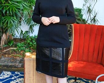Great 1960s Black Dress
