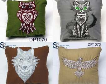 Celtic Spirit Animals Dream Pillows