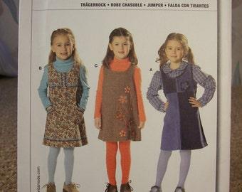 Burda Easy 9675 sizes 3 - 9 Girls