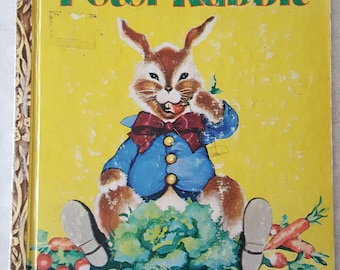 "Vintage 1958 Children's Golden Book The Tale of Peter Rabbit"" by Beatrix Potter"