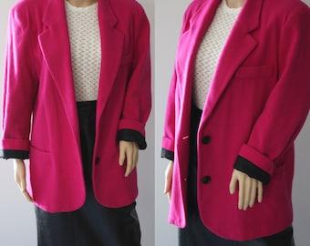 SALE -80s/90s Bubble Gum Pink Blazer/Jacket