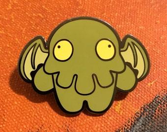 Cthulhu Zombie Enamel Pin