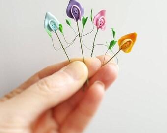 Alice in wonderland miniature sweet peas