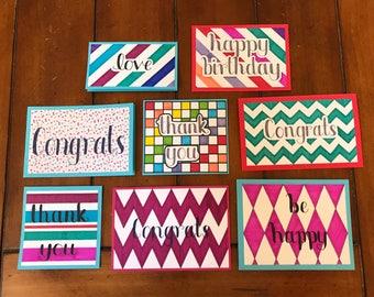 Handmade Cards/Assortment Set of Cards