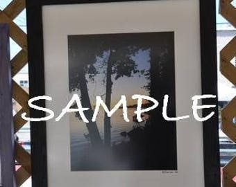 16x20 Picture Frame with Glass Backing and Mounting Hardware