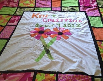 Personalized Wedding Quilts