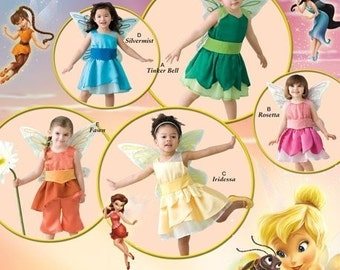 TODDLER DISNEY PATTERN / Tinker Bell and Other Fairy Costumes