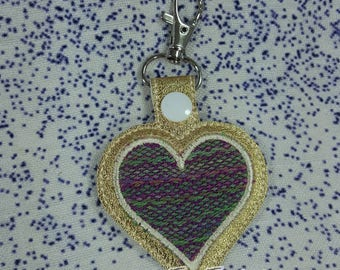 Keychain - Farideh Wrap Scrap - Wings of Love