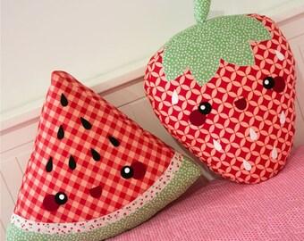Cute Fruit Cushions Pattern