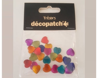 Decopatch tresors embellishments for decorations