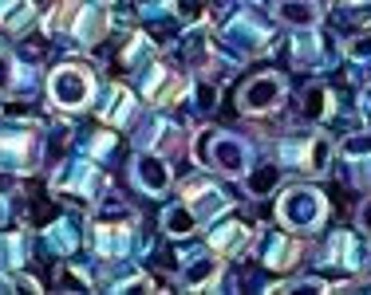 AQV774 Periwinkle Lined Crystal AB Toho Treasure