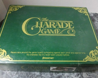 The Charade Game Pressman Toy Corp 1985