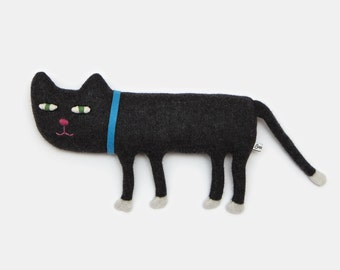 Percy the Cat Lambswool Plush Toy - Made to order