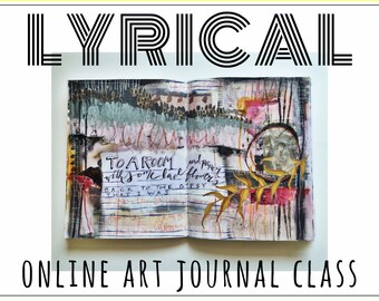 LYRICAL - online art journal class