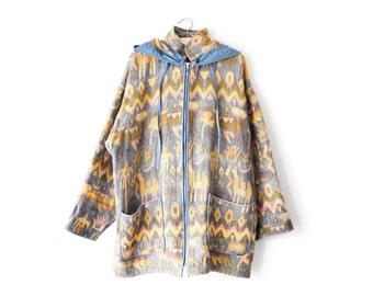 Vintage tapestry coat | L/XL