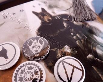 Imperium Lupi Kit - Signed Novel, Bookmark & Full Badge Set.