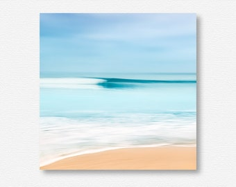 Wave Photography, Surf Photo, Ocean Photo, Seascape Print, Pacific Coast, Wave Photo, Abstract Photography, California Beach Decor, Teal Art