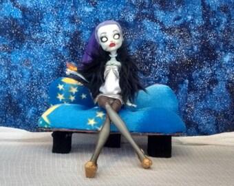 Monster High Repaint Doll Ooak Custom(Frankie Doll)