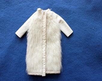 Vintage 1965 Francie  Frosted Fur Coat, Francie Coat, Francie by Mattel, Francie doll clothes, Barbie clothes