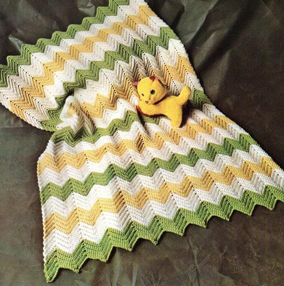 Baby Crochet Pattern Easy Crochet Baby Afghan Pattern Zig
