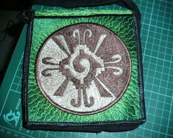 """Hunab Ku embroidererd Bag 6"""""""