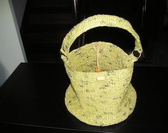 Small yellow round bag