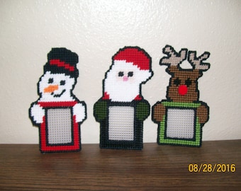 Christmas Photo Magnets or Ornaments