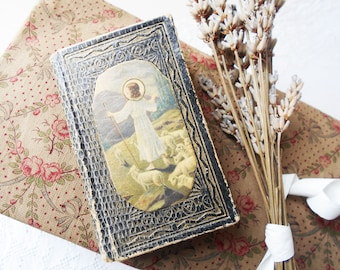 Mini Antique Prayer Book French Missel for Children