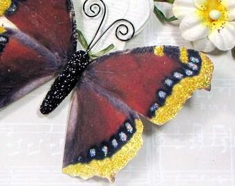 Butterfly Embellishments Merlot Flutters