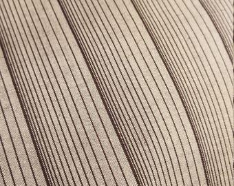 Great stripe Tsumugi new wool kimono panel