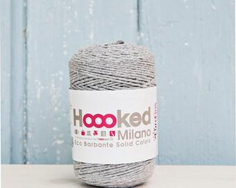 Barbante eco yarn, grey