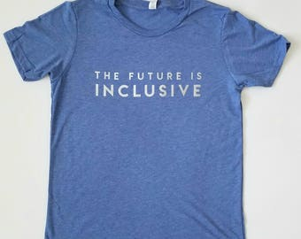 The Future Is Inclusive -- Kids T-Shirt