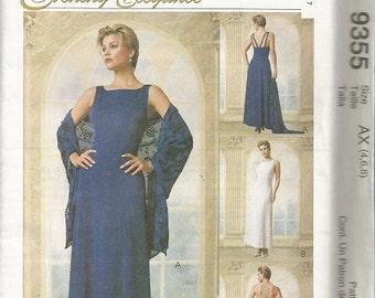 McCall's Evening Elegance  Evening Dress SZ 4-8