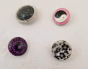 Snap Buttons Set of 4