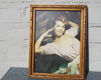 Vintage 60 laguid woman picture