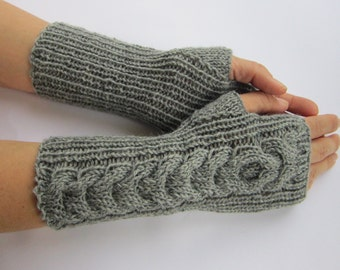 arm warmers wrist warmers mittens fingerless gloves hand knitted warm soft arm warmers wrist warmers pure merino