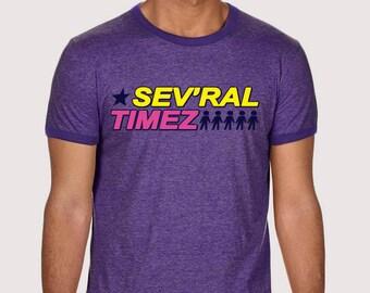 Sev'ral Timez - Ringer T-Shirt