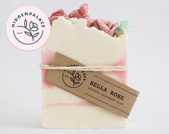 Bella Rose | Cold Process Soap Bar