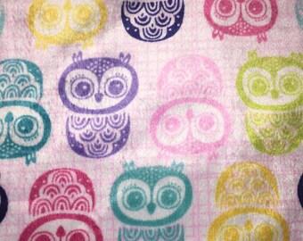 Minky Blanket - Owls