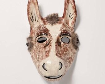 masquerade donkey paper mask