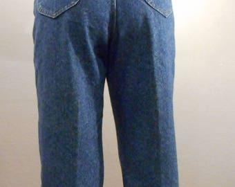 Vintage Lee Jeans Denim/waist 31/ high waisted mom jeans 90s denim