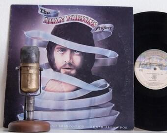 "Alan Parsons Project debut Vinyl Record Album1970s Prog Avant Garde Rock LP ""Tales Of Mystery and Imagination"" (1976 Casablanca re-issue)"