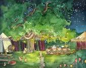 Party Tree Painting - Pri...